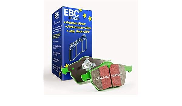 EBC Brakes DP61729 6000 Series Greenstuff Truck and SUV Brake Pad