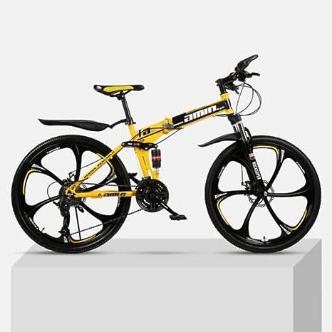 Bicicleta plegable de montaña con suspensión completa Bicicleta de ...