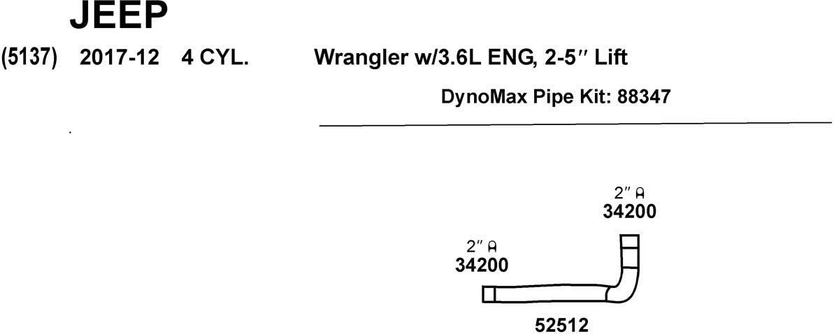 Dynomax 88347 Exhaust Y-Pipe Kit