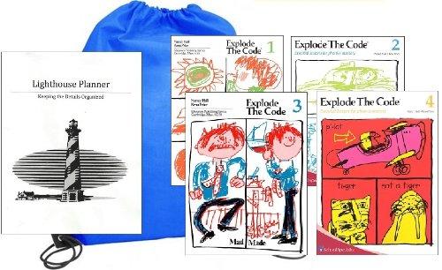 (Explode the Code Workbooks 1-4 Homeschool Kit in a)