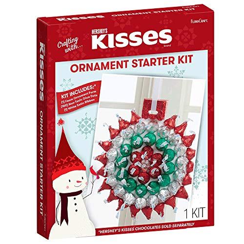 FloraCraft HERSHEY'S KISSES Ornament Starter Kit