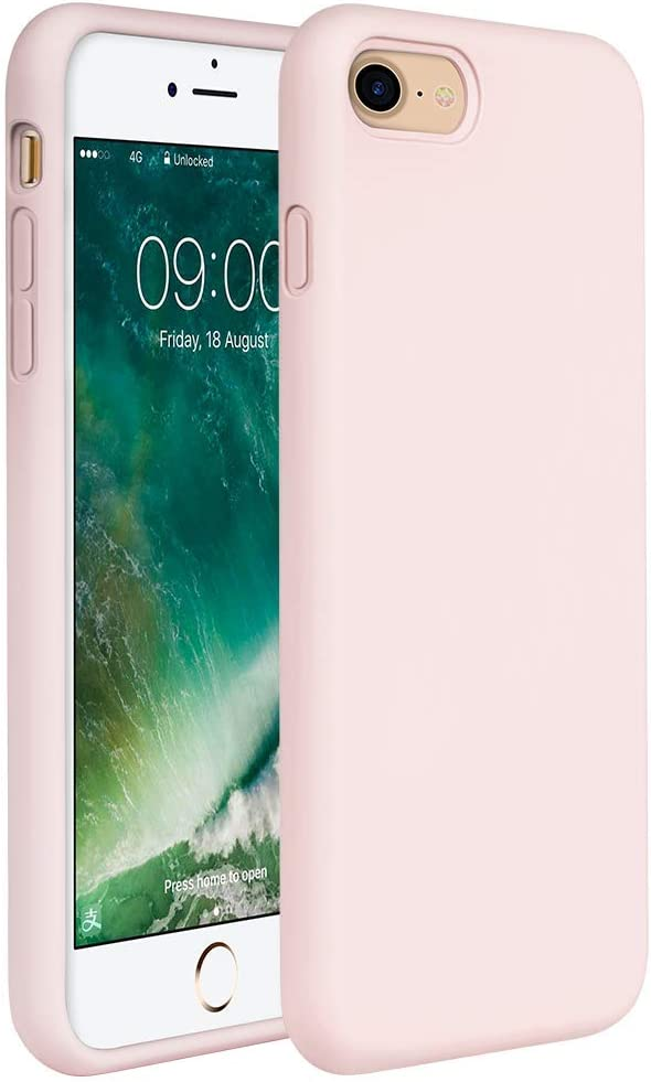 Miracase iPhone SE 2020 Case,iPhone 8 case,iPhone 7 Silicone Case Gel Rubber Full Body Protection Shockproof Cover Case Drop Protection for Apple iPhone SE 2020/ iPhone 8/ iPhone 7(4.7