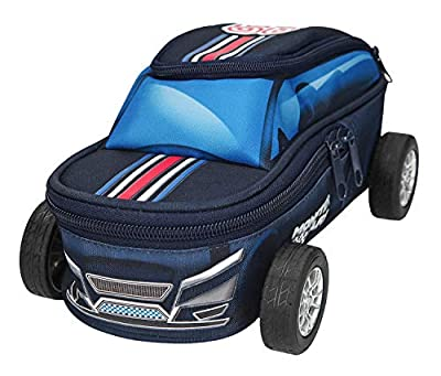 Depesche 10248 Monster Cars Pencil Case with Wheels Multicoloured