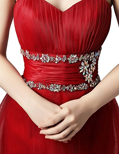 Beads Prom Gown Women Dresses for with 2018 Ball Cocktail Party House Belle Mint High Low qRUUOT