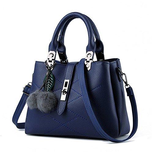 ANDAY - Bolso mochila  para mujer Negro negro talla única azul real