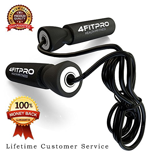 4FITPRO Light Weight Adjustable Jump Rope