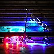 STUSSKUR Lights 2.0 for Skateboards Longboards Shortboard,Skate Board Accessories, Customize Scooters,Fashion