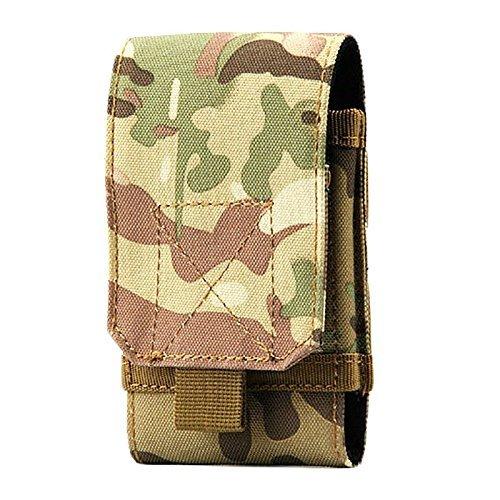 YEAH67886multifunzionale sport all' aperto tattico militare Waterproofb mobile phone ARM vita borsa