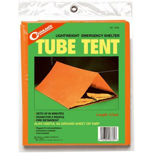 Coghlan's Emergency Tube Tent (Survival Tube Tent)