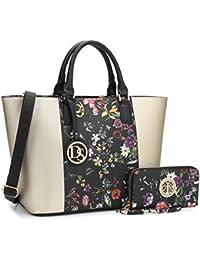 Women's Designer Large Laptop Top Handle Structured Tote Bag Satchel Handbag Shoulder Bag Purse