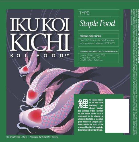 Picture of IKU KOI KICHI Staple Koi Fish Food, 40-Pound