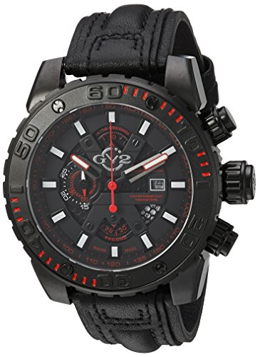 GV2-by-Gevril-Mens-1404-Polpo-Analog-Display-Swiss-Quartz-Black-Watch