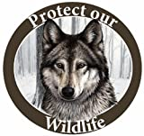 E & S Pets Car Magnet, Wolf from E&S Imports, Inc