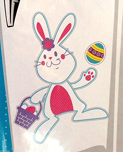 HORROR-HALL Cute Spring Holiday EASTER BUNNY EGG PUZZLE MAGNETS Refrigerator Door Decoration