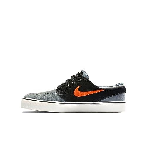 Zapatillas Nike - SB Stefan Janoski (GS) Gris Cool/Naranja/Negro 36: Amazon.es: Zapatos y complementos