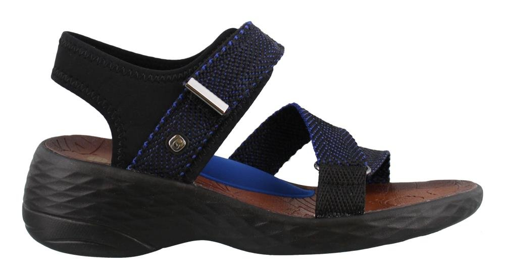 BZees Women's 6 Jive Sport Sandal B071JPQ2LB 6 Women's W US|Blue 46620e