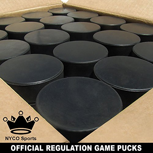 Bulk Blank Ice Hockey Pucks (50 pucks)