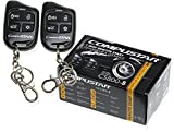 Compustar CS800-S 1-Way Remote Start with 2 4-Button Remotes 1000 Feet Range CS800S CS800