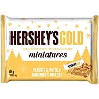 HERSHEY'S Gold Miniatures Candy, 198 Gram