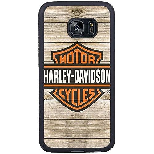 Samsung Galaxy S7 Edge Harleydavidson Logo 5 Black Shell Case,Newest Design Sales