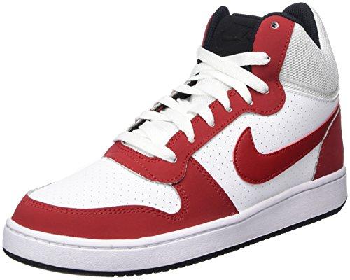 Nike 838938-101, Scarpe da Ginnastica Uomo Bianco (White / Gym Red / Black)