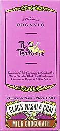 The Tea Room Organic Milk Chocolate Fusion, Black Masala Chai, 1.8 Ounce (Pack of 12)