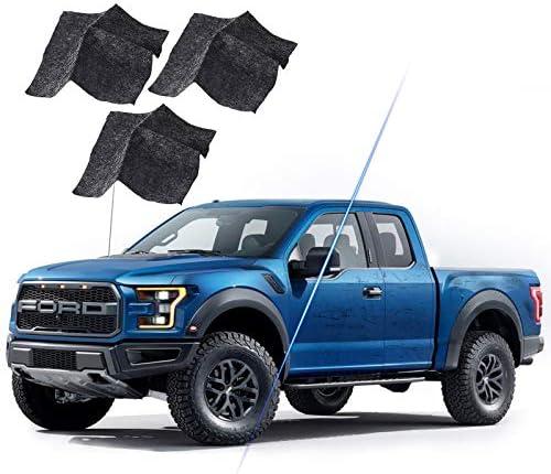 3pcs Nano Magic Cloth, Car Scratch Repair Cloth, Car Paint Scuffs Repair Kit, paintless dent Repair package for Surface Repair/Repairing Scratches (Black) (A)
