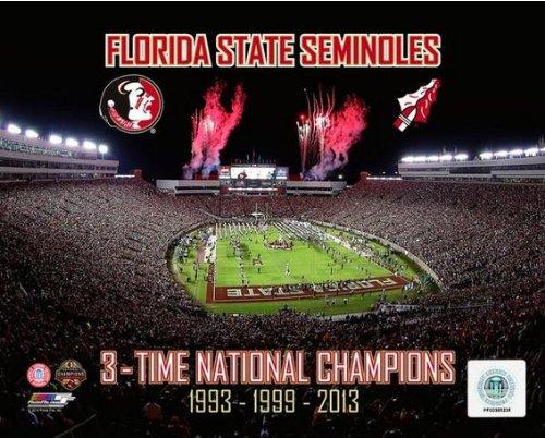 - Florida State Seminoles 2014 BCS National Championship Photo #4 (Size: 8