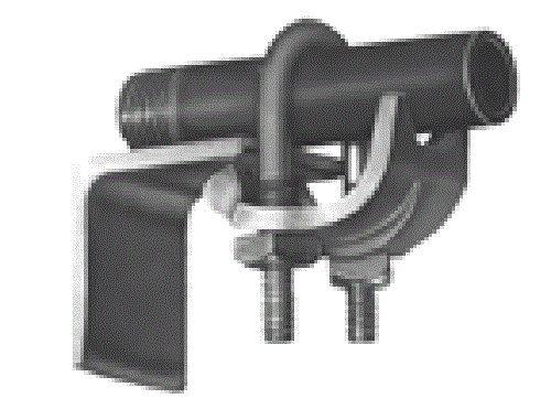 Bridgeport 962 3/4-Inch Conduit Clamp, 10-Pack