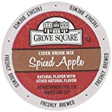 keurig k cups hot apple cider - Grove Square Cider Drink Mix Single Serve, Spiced Apple, 24 cups