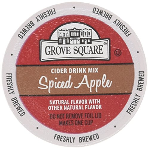 Grove Square Cider Drink Mix Single Serve, Spiced Apple, 24 cups - Hot Spiced Cider