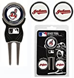 Cleveland Indians Golf Divot Tool With 3 Markers