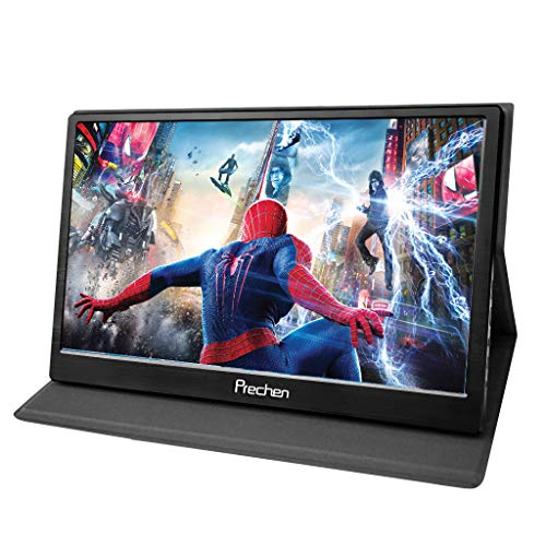 Portable HDMI Monitor,15.6 inch 1920x1080 Resolution with Dual HDMI Interface USB Powered Compatible PS3/PS4 XBOX360 Computer Laptop Raspberry pi 1 2 3,Prechen ()