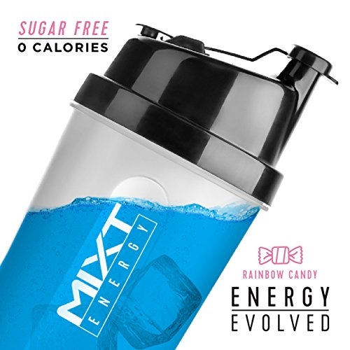 MIXT Energy - Designed for Concentration, Focus, and Hours of Energy Without the Crash (Rainbow Candy, 60 Serving)