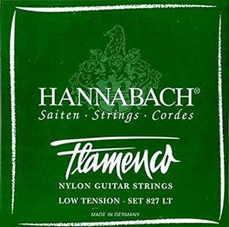 CUERDAS GUITARRA FLAMENCA - Hannabach (827/LT) Verde Suave (Juego ...