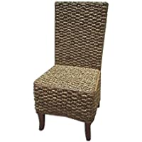 Home Accents Mahogany Seagrass Dining Chair (Set of 6)