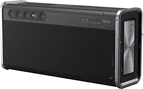 Creative Iroar Go Intelligent Splash-Proof Portable 5-Driver Bluetooth Speaker with Superwide Technology (Creative Sound Blaster Roar Pro Bluetooth Wireless Speaker)