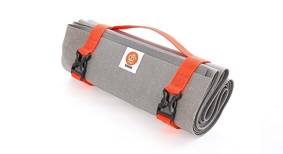 Amazon.com: YOGO - Esterilla de yoga ultraligera para viaje ...