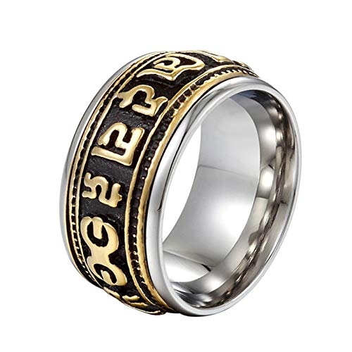 Beydodo Stainless Steel Biker Rings Men Size 12 Mens for sale  Delivered anywhere in Canada
