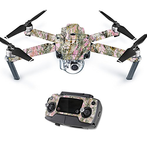 MightySkins Skin for DJI Mavic – Mc2 Pink | Protective, Durable, and Unique Vinyl Decal wrap Cover | Easy to Apply, Remove, and Change Styles | Made in The USA