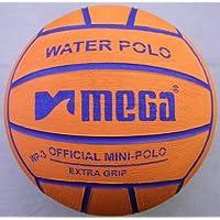Pallone da pallanuoto Mega Design arancione Taglia 3. Mini-polo