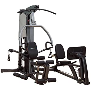 Body Solid Fusion F500-FLP Home Gym with Leg Press/310 lb stack from Body-Solid