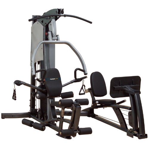 Body-Solid Fusion Home Gym with Leg Press and 310-Pound Weight Stack F500-FLP