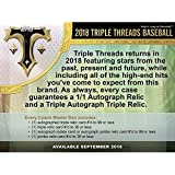 2018 Topps Triple Threads Baseball Hobby Edition Factory Sealed 2 Pack Box - Baseball Wax Packs