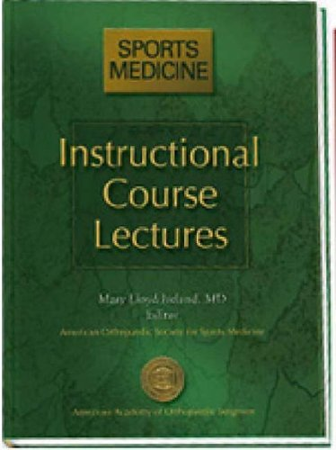 Download Instructional Course Lectures: Sports Medicine (Aaos Instructional Course Lectures) (2005-07-31) pdf epub
