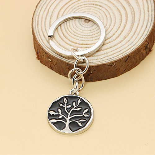 A friend may well be reckoned the masterpiece of nature - Double Side Key Chain Ring BBF Best Friend Gift Photo #6