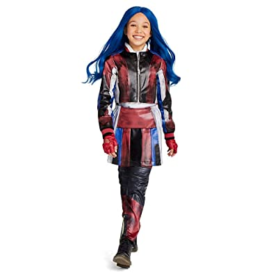 Disney Evie Costume for Kids - Descendants 3 Size Blue: Clothing