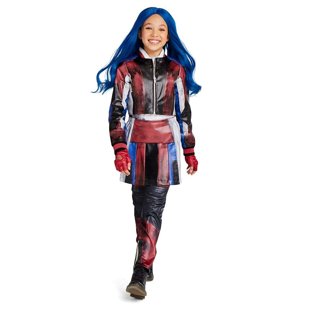 Disney Evie Costume for Kids - Descendants 3 Size Blue