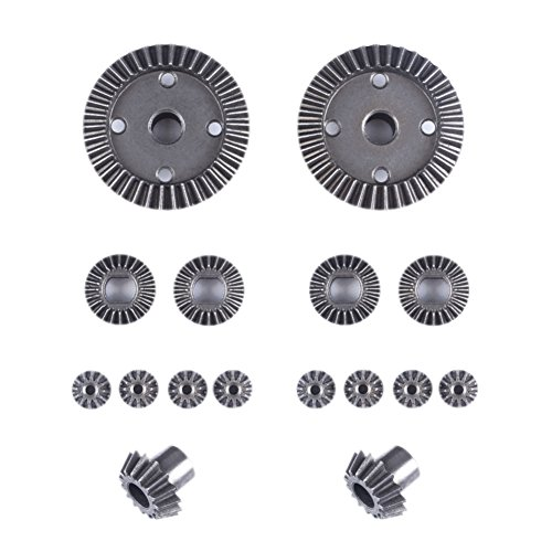 (Studyset Metal Motor Accessory Spare Part Driving Gear Differential Gear Set for WLtoys A959-A A969-A A979-A K929-A A949 A959 A969 A979 K929 A959-B A969-B A979-B)