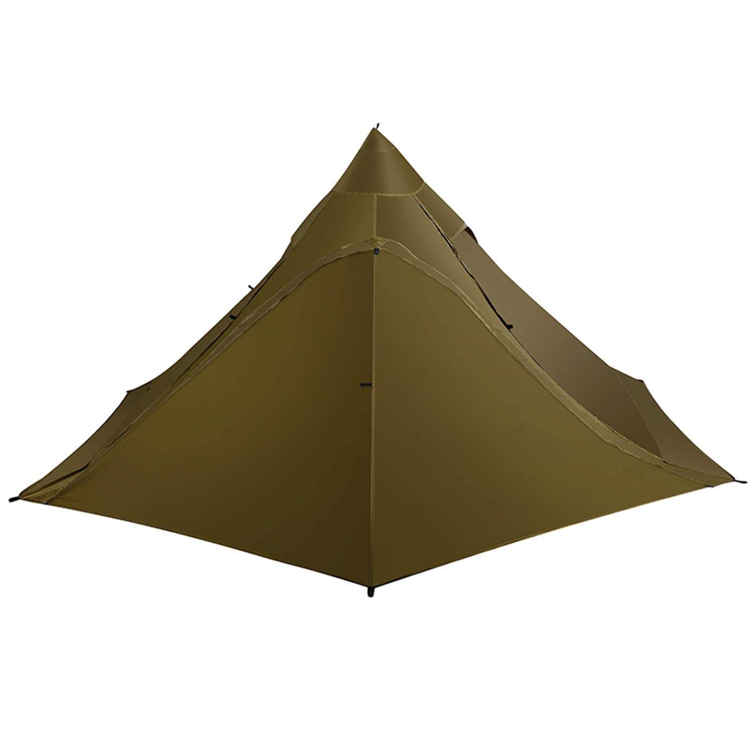 OneTigris TIPINOVA Teepee Camping Tent, 2.6 lbs, No Pole Included
